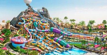 Аквапарк в Абу-Даби Yas Waterworld с обедом