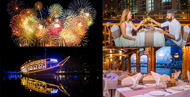 New Year's Eve Dubai Marina Dhow Cruise